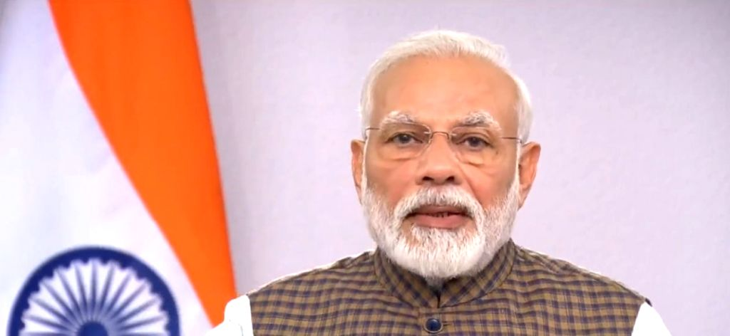 New Delhi: Prime Minister Narendra Modi addresses the nation on vital aspects relating to the menace of COVID-19, in New Delhi on March 24, 2020. (Photo: IANS) - Narendra Modi