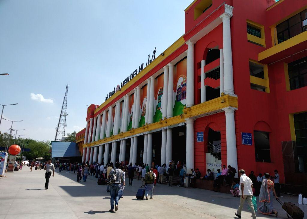 New Delhi Railway station. (File Photo: Bidesh Manna/IANS)