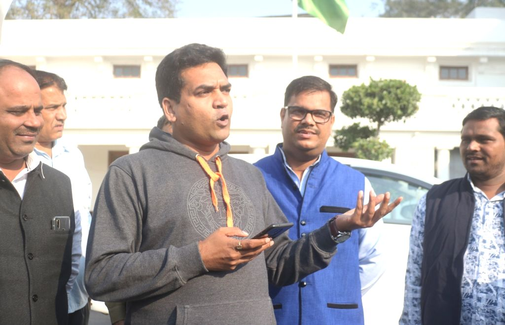 New Delhi: Rebel AAP legislator Kapil Mishra at the one-day special session of the Delhi Assembly, on Nov 26, 2018. (Photo: IANS) - Kapil Mishra