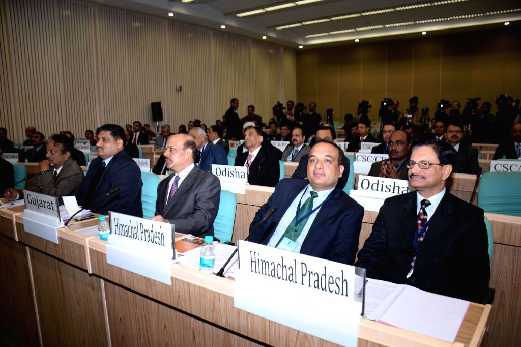 Representatives of various states at All India Conference on Railway Security in New Delhi on Jan 15, 2015.