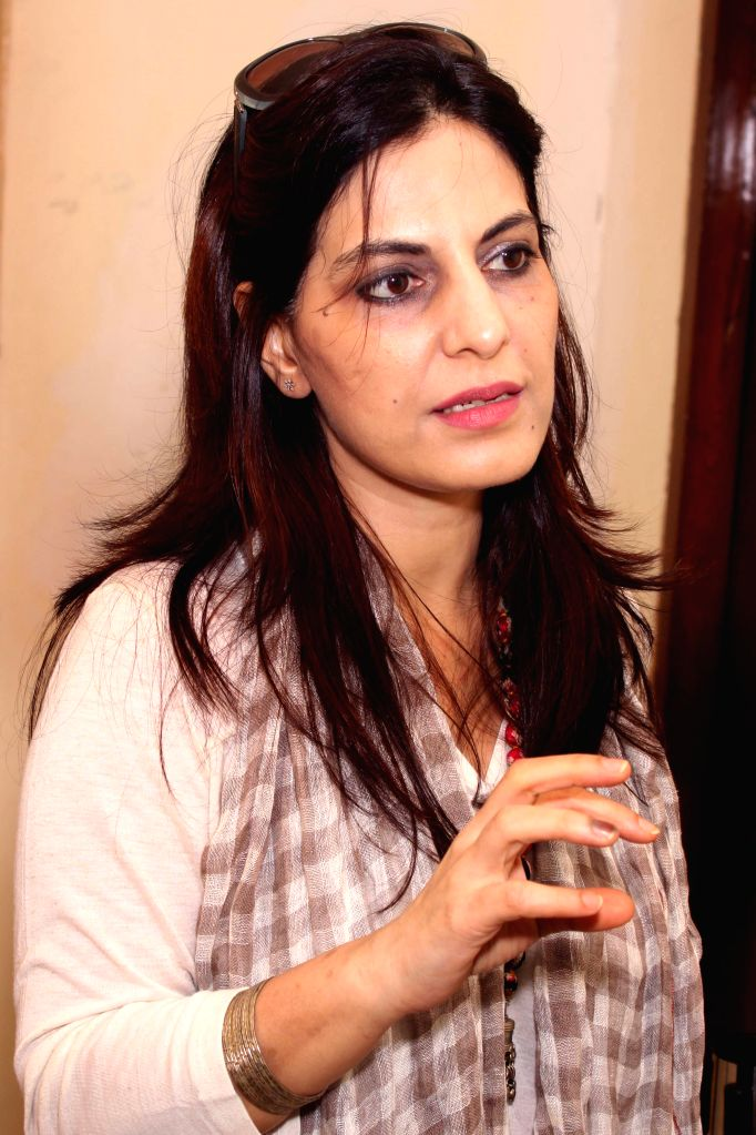 New Delhi: Screenwriter Juhi Chaturvedi at the Jagran Film Festival in New Delhi on July 5, 2015. (Photo: Amlan Paliwal/IANS)