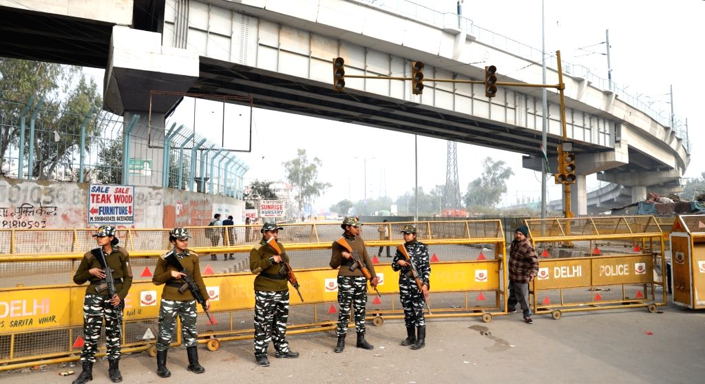 New Delhi: Security beefed up
