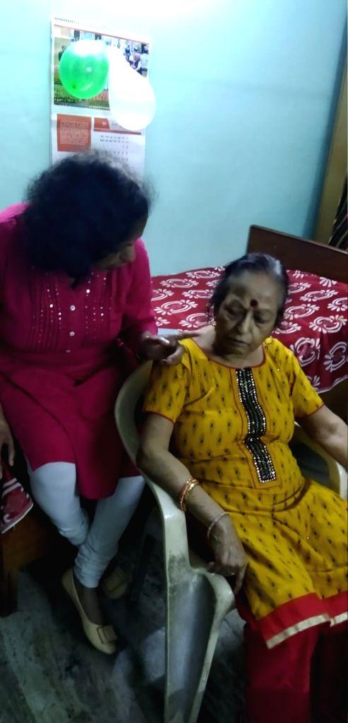 New Delhi: Shashi Mathur, who was found dead with her throats slit inside a house in New Delhi's Vasant Vihar, on June 23, 2019. (Photo: IANS)