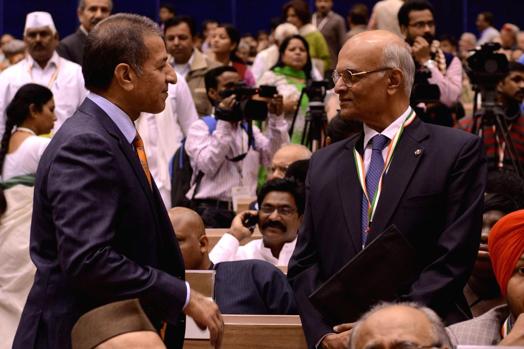 "Telangana Governor E S L Narasimhan a conference organised to discuss ""Nehru's Worldview and his Legacy: Democracy, Inclusion and Empowerment"" on 125th birth anniversary of ..."