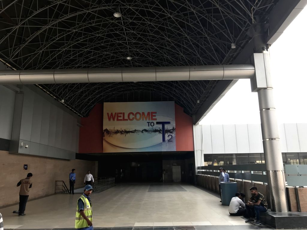 New Delhi: Terminal 2 of Indira Gandhi International Airport (IGI) that is set to be inaugurated on Sunday. (Photo: Rohit Vaid/IANS)