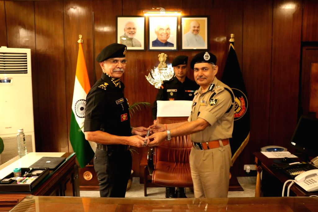 New Delhi: The new Director General of National Security Guard Senior IPS officer of Gujarat cadre Anup Kumar Singh takes over from Indo-Tibetan Border Police (ITBP) Director General S.S. Deswal, who was holding additional charge of the post since th - Anup Kumar Singh