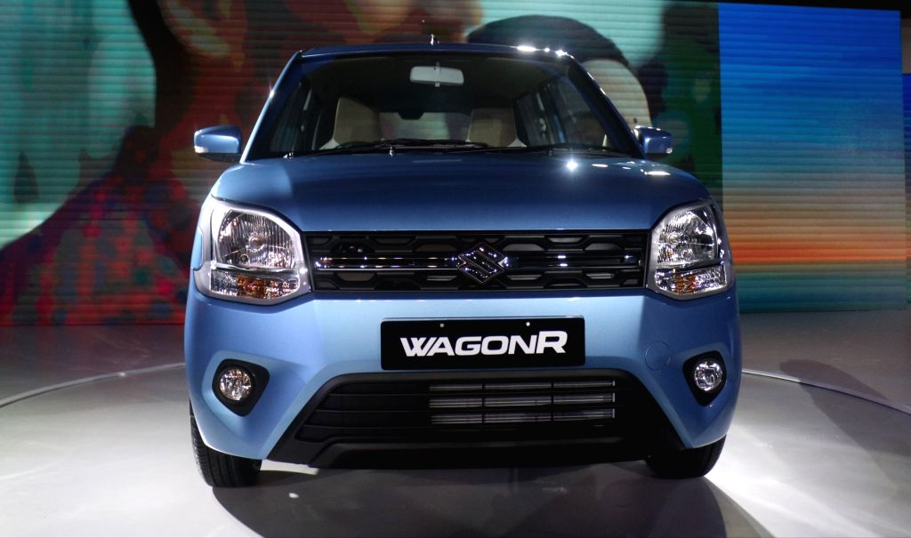 New Delhi: The newly launched Big New WagonR in New Delhi, on Jan 23, 2019. (Photo: IANS)