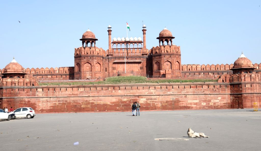 New Delhi: The Red Fort (Photo: IANS)