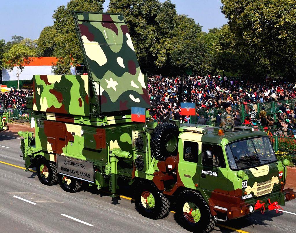 New Delhi: The Troop Level Radar during 2019 Republic Day Parade at Rajpath in New Delhi on Jan 26, 2019. (Photo: IANS/PIB)