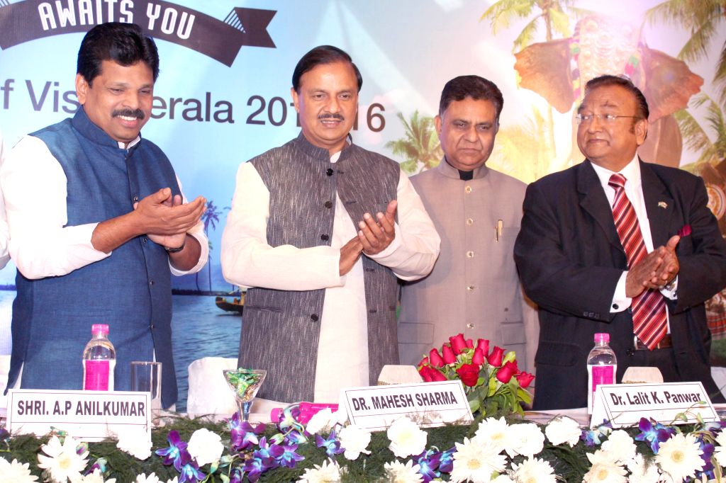 The Union Minister of State for Culture (Independent Charge), Tourism (Independent Charge) and Civil Aviation, Dr. Mahesh Sharma launches `The Visit Kerala Initiative` of Kerala Tourism, ... - Mahesh Sharma and P. Anil Kumar