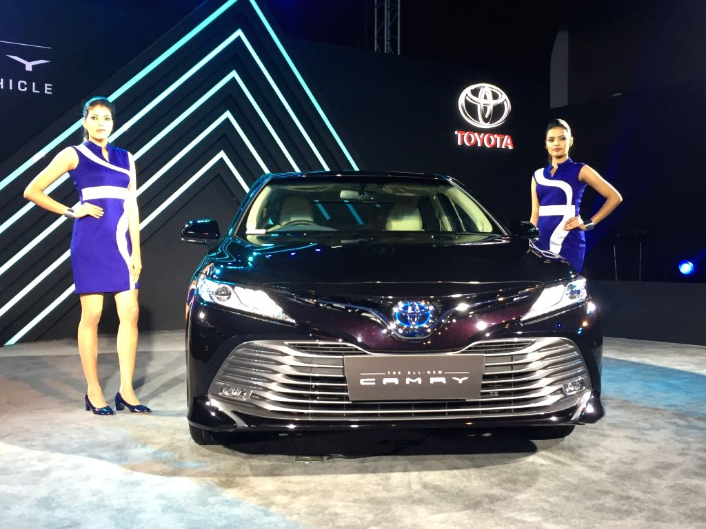 New Delhi: Toyota launches new Camry hybrid in New Delhi, on Jan 18, 2019. (Photo: IANS)