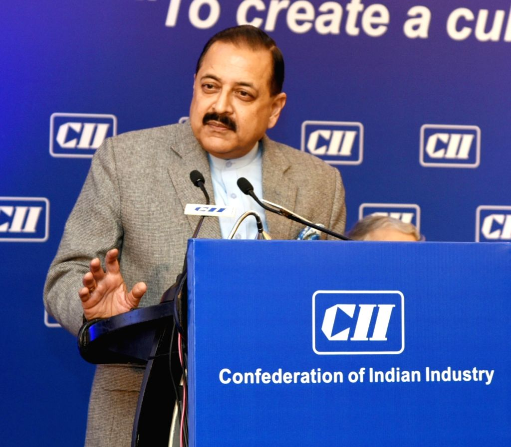 "New Delhi: Union Minister Jitendra Singh addresses at the inaugural session of the Summit on ""Integrity and Transparency in Governance"" in New Delhi, on Jan 23, 2019. (Photo: IANS/PIB) - Jitendra Singh"