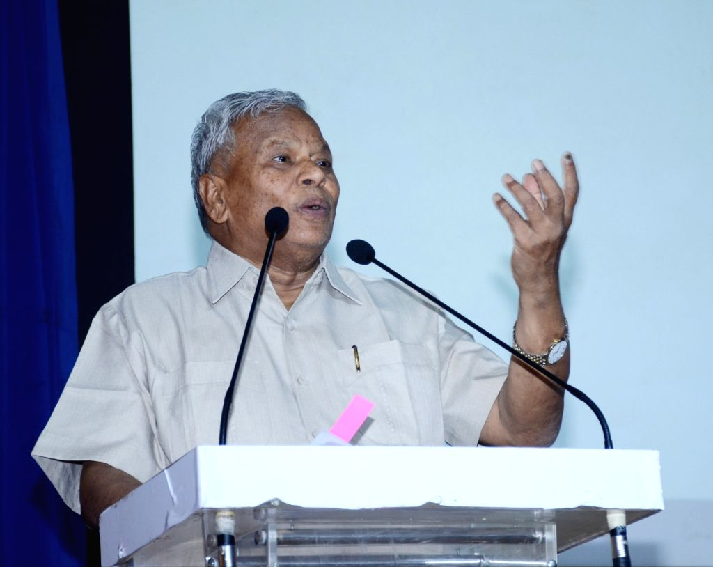 New Delhi: Union MoS Jal Shakti Rattan Lal Kataria addresses at a programme on Jal Shakti Abhiyan - A Water Conservation Campaign, in New Delhi on June 28, 2019. (Photo: IANS/PIB)