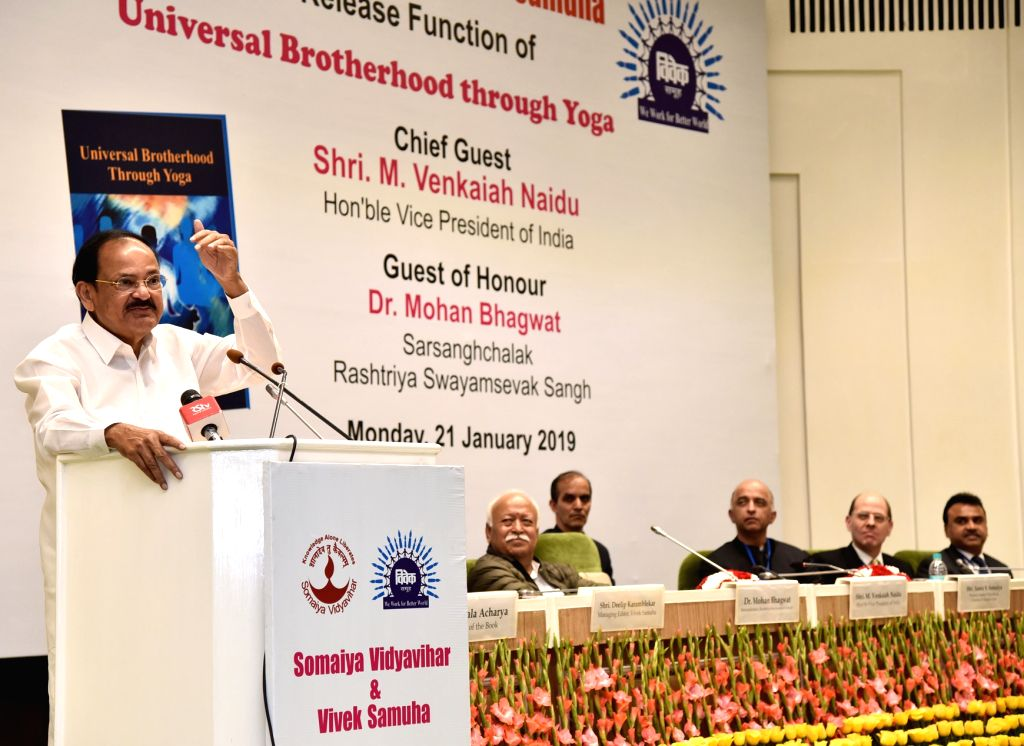 Secularism is safe in India: Vice President