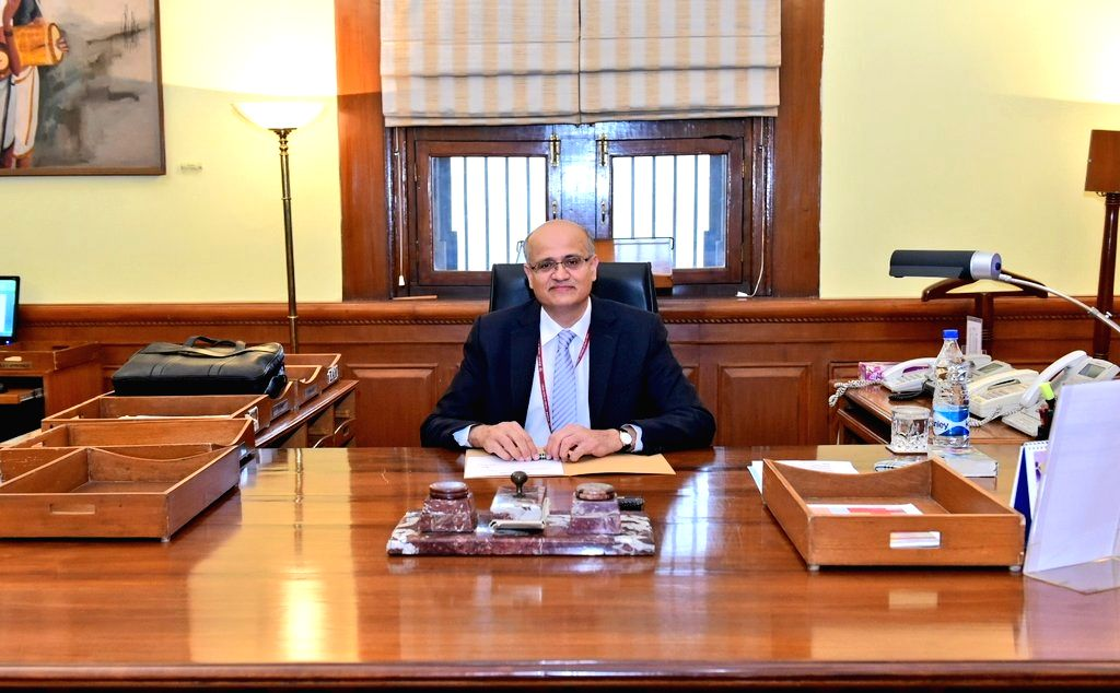 :New Delhi: Vijay Gokhale, an Indian Foreign Service Officer of the 1981 batch, took over as Foreign Secretary of India from S. Jaishankar on Jan. 29, 2018. .