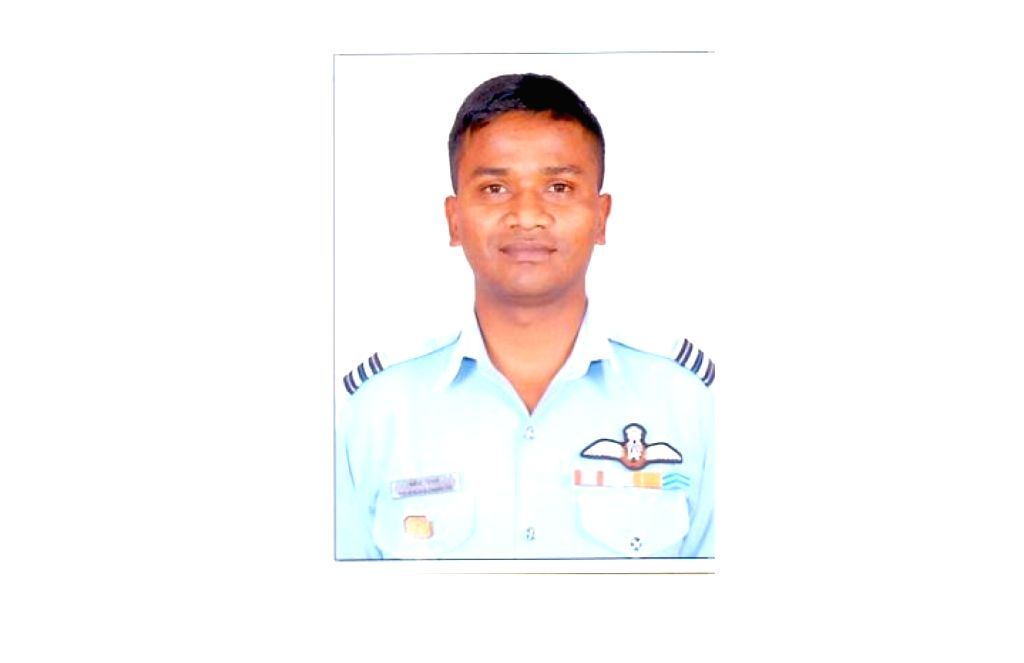 New Delhi: WG CDR GM Charles one of the 13 persons who died in An-32 aircraft crash in Arunachal Pradesh on June 3. (Photo: IANS/DPRO)