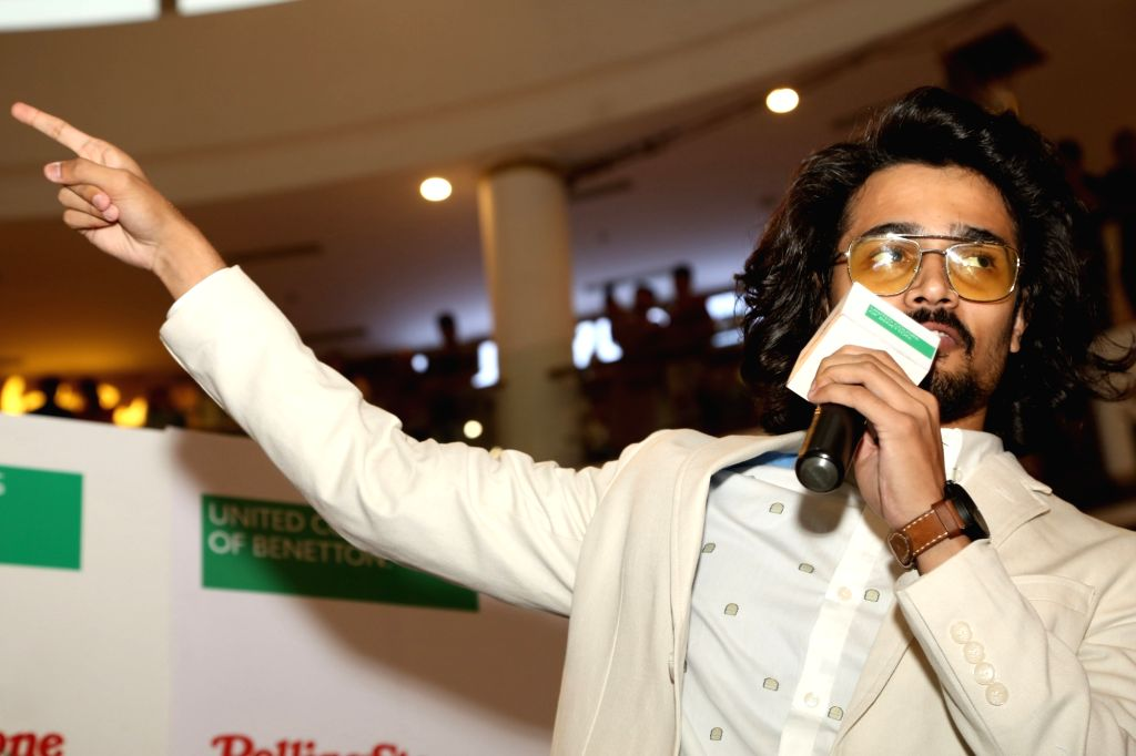 New Delhi: YouTube sensation Bhuvan Bam during unveiling of magazine Rolling Stone India's cover, in New Delhi, on 4 July ,2019. (Photo: Amlan Paliwal/IANS)