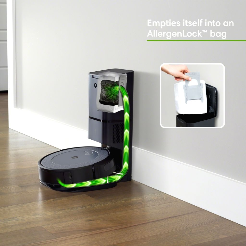New iRobot robotic vacuums with automatic dirt disposal in India.