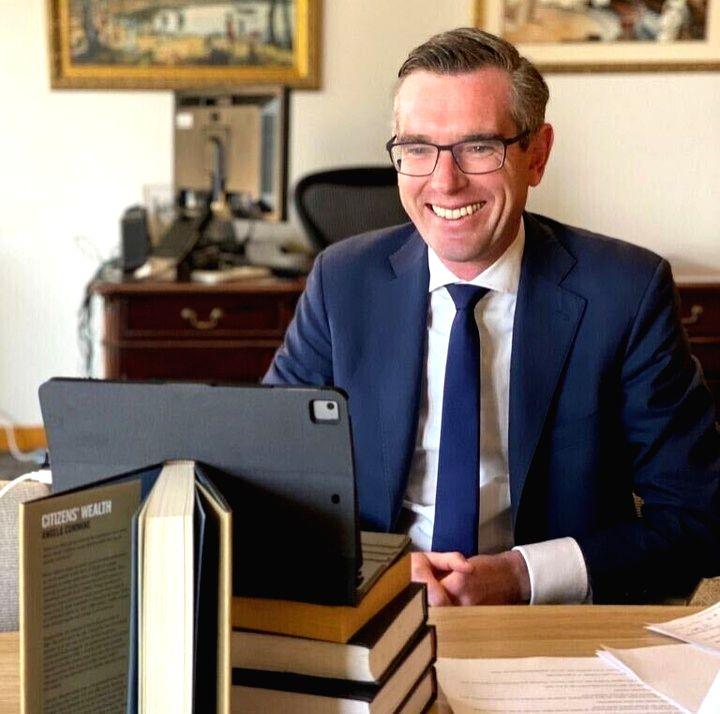 New NSW Premier Dominic Perrotet