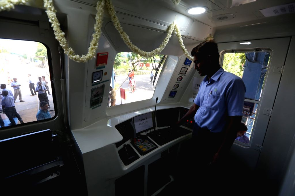 New rake of Kolkata Metro that was flagged off from Chennai's Integral Coach Factory for Kolkata on July 4, 2017.