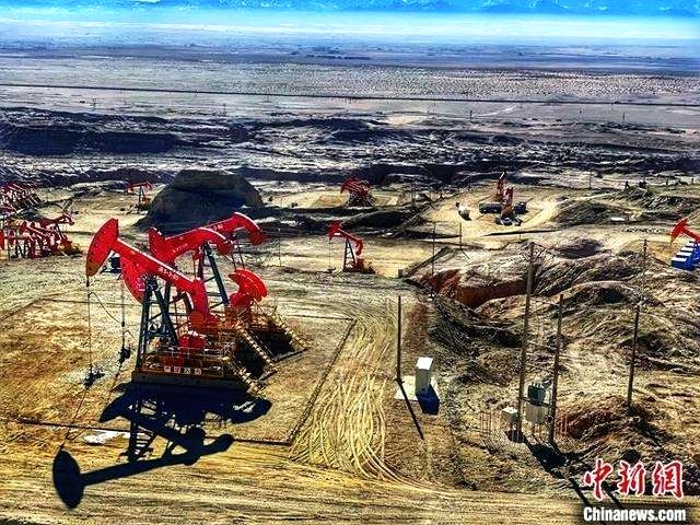 New record in 2019 of crude oil production on Chinghai-Tibet plateau.