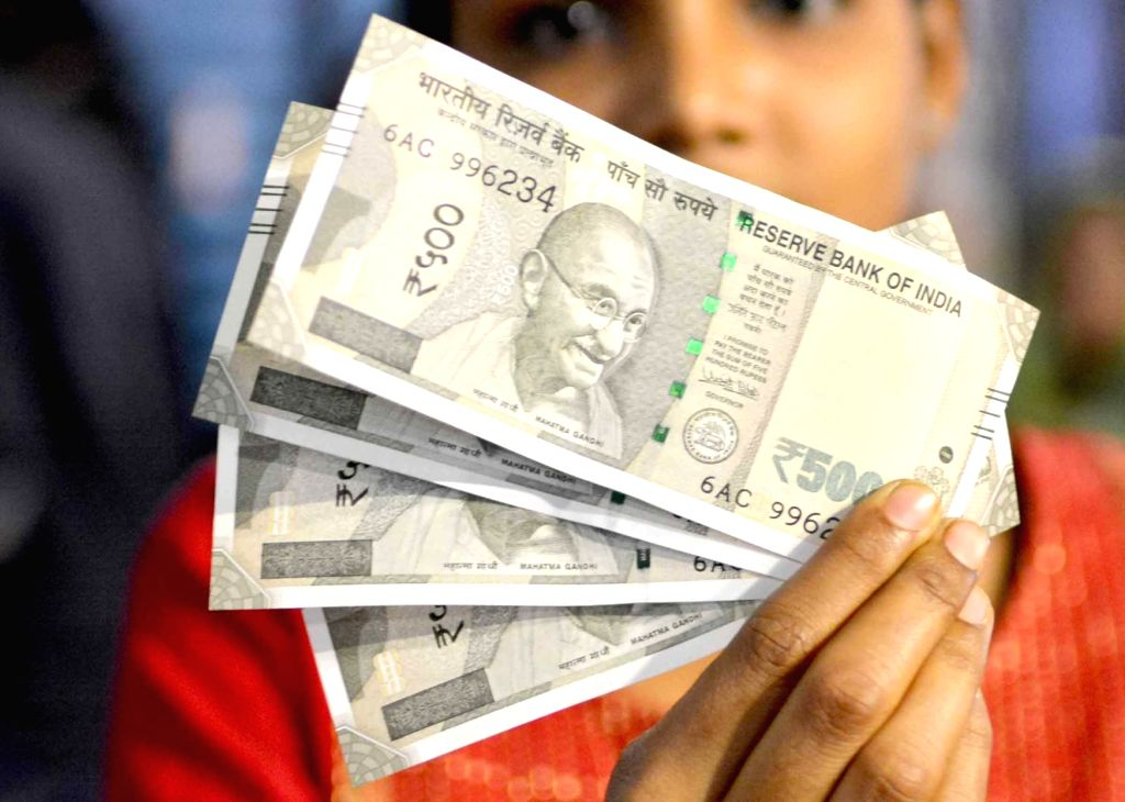 New Rs 500 denomination currency note. (File Photo: Kuntal Chakrabarty/IANS)