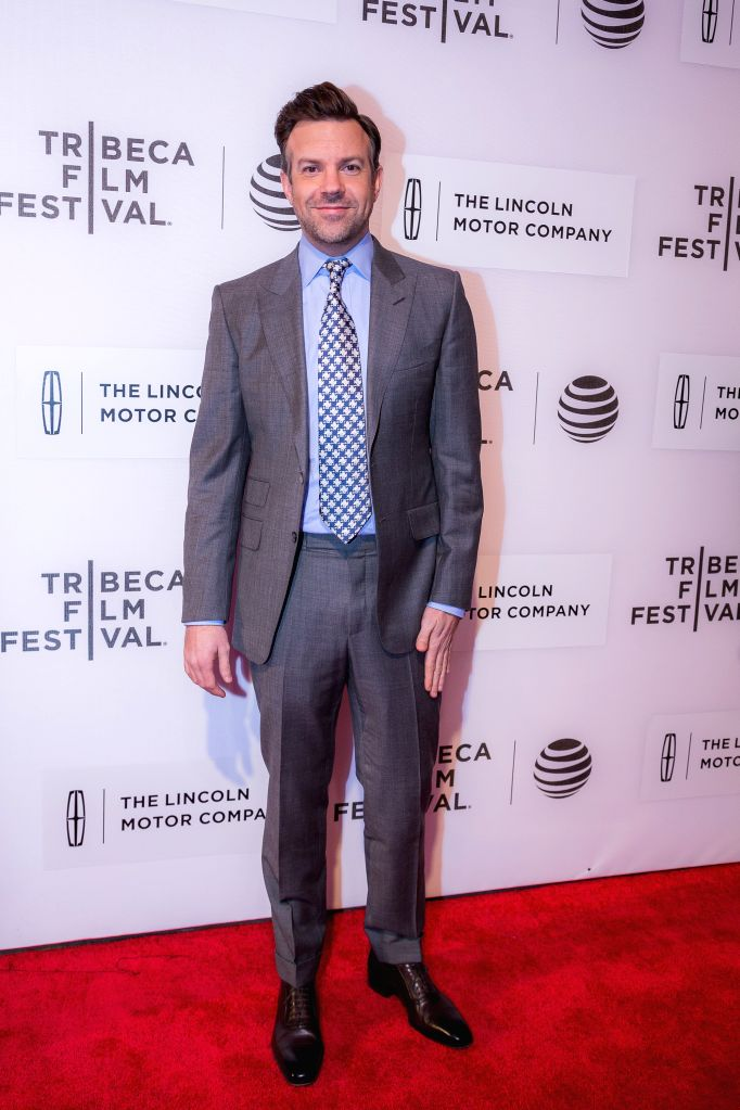 """NEW YORK, Apr. 15, 2016 - Actor Jason Sudeikis poses on the red carpet for the world premiere of the movie """"The Devil and the Deep Blue Sea"""" during the 2016 Tribeca Film Festival in New ... - Jason Sudeikis"""