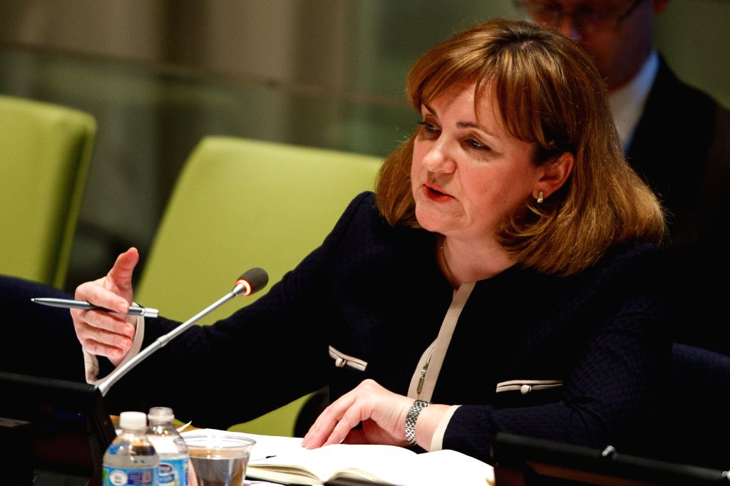 NEW YORK, April 13, 2016 - Natalia Gherman, former minister of foreign affairs and European integration of Moldova, candidate for the position of the next secretary-general, presents herself to the ...
