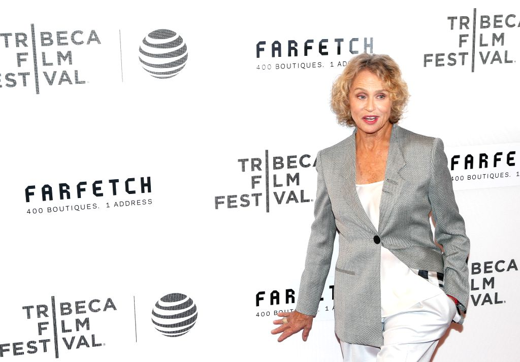 NEW YORK, April 14, 2016 - Actress Lauren Hutton poses on the red carpet for the opening night of 2016 Tribeca Film Festival in New York, the United States on April 13, 2016. 2016 Tribeca Film ... - Lauren Hutton