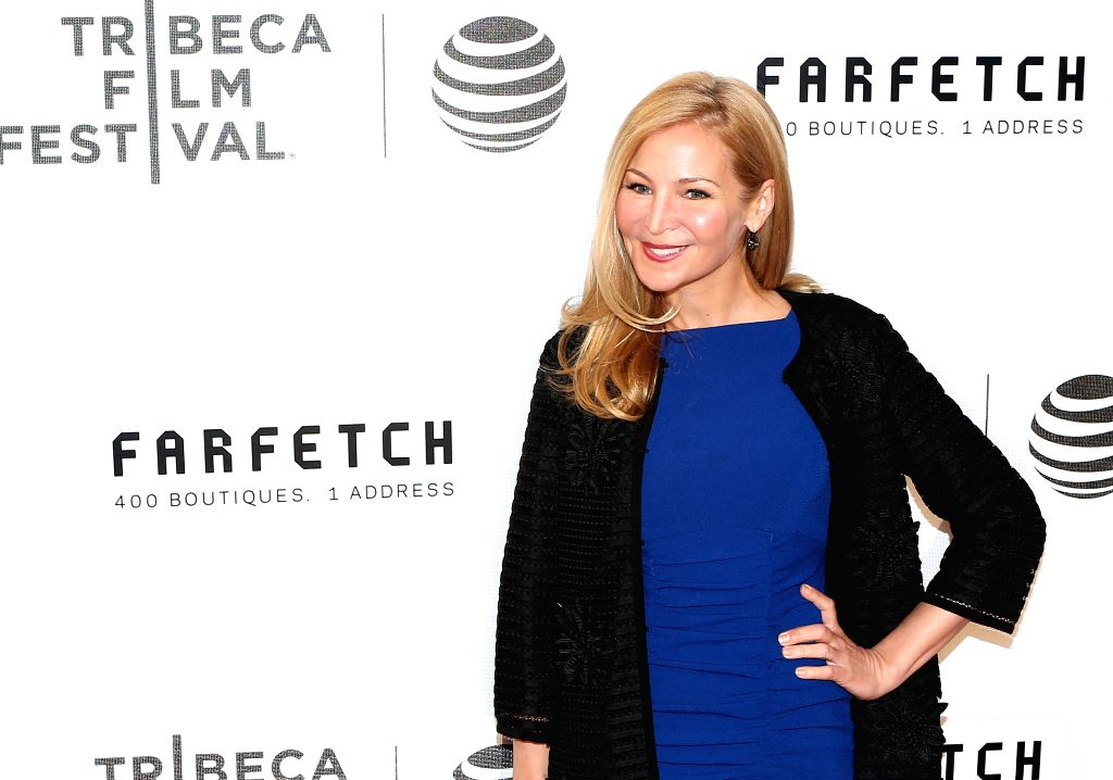 NEW YORK, April 14, 2016 - American actress Jennifer Westfeldt poses on the red carpet for the opening night of 2016 Tribeca Film Festival in New York, the United States on April 13, 2016. 2016 ... - Jennifer Westfeldt