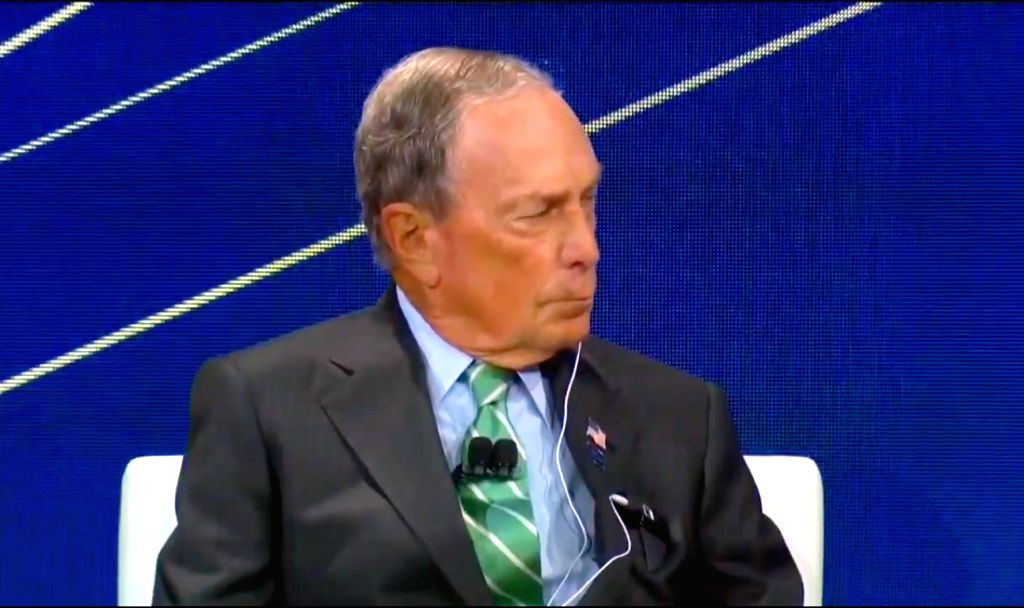 New York: Bloomberg LP and Bloomberg Philanthropies Founder and former mayor of New York City, Michael R Bloomberg