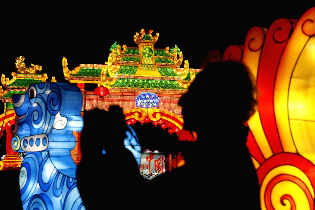 NEW YORK, Dec. 12, 2019 - LED-lit lanterns are seen at the New York City Winter Lantern Festival at Staten Island, New York, the United States, Nov. 20, 2019. The second annual New York City Winter ...