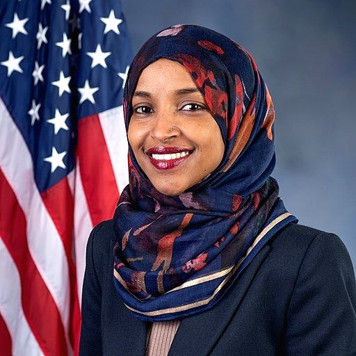 New York: Democratic Party Representative Ilhan Omar. (Photo: House of Representatives)