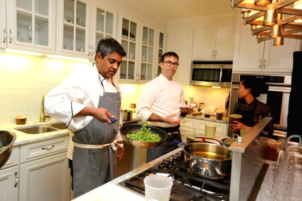 New York: Indian-born international chef Floyd Cardoz passed away in New York, US on March 25, 2020. (File Photo: Mohammed Jaffe/IANS)