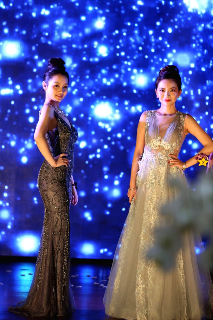 NEW YORK, July 15, 2019 - Contestants present Western-style dresses during the 2019 Miss China International Contest (North America) in New York, the United States, on July 14, 2019. The 2019 Miss ...