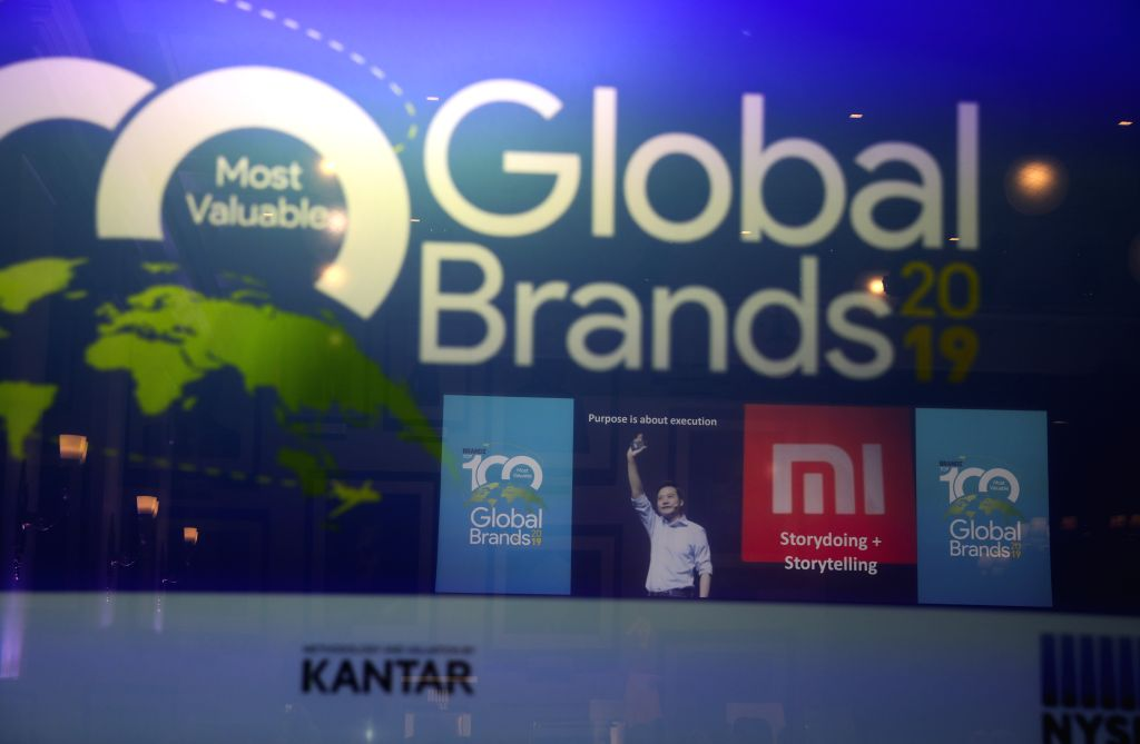 NEW YORK, June 12, 2019 - The launching event of BrandZ Top 100 Most Valuable Global Brands 2019 is held in New York, the United States, June 11, 2019. China's e-commerce giant Alibaba and tech ...