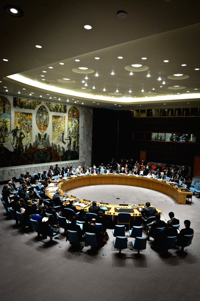 The United Nations Security Council holds an urgent session on the situation of Ukraine, at the UN headquarters in New York, on May 2, 2014. The situation has been .