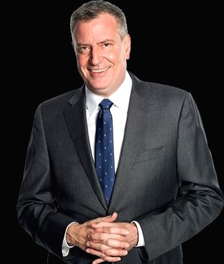New York Mayor Bill de Blasio (Photo: NYC/IANS)