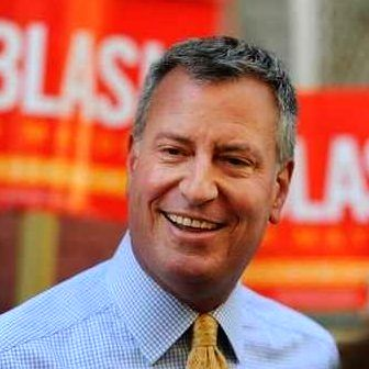 : New York Mayor Bill de Blasio. (Photo: Twitter/@BilldeBlasio).