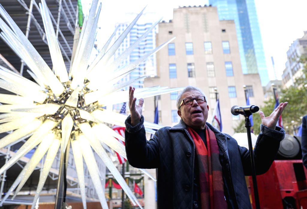 U S New York Rockefeller Center Christmas Tree Swarovski Star