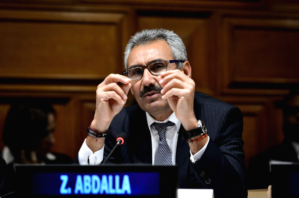 New York: PepsiCo President Zein Abdalla speaks during a panel discussion marking the launch of Together for Safer Roads, a private sector initiative aimed at reducing road traffic collisions, at the