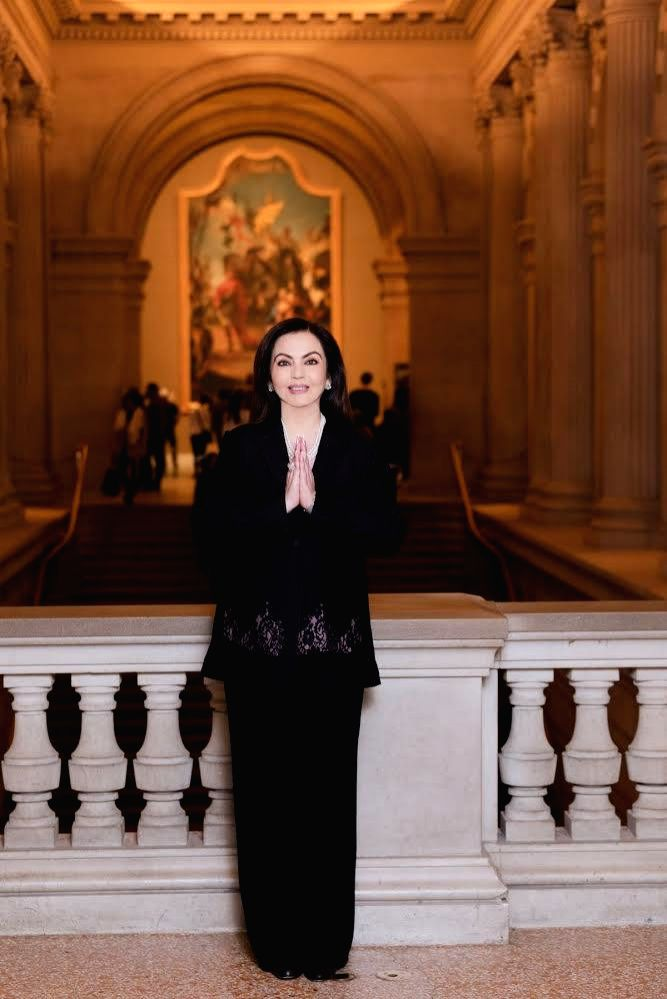 New York: Reliance Foundation Founder and Chairperson Nita Ambani elected to the Board of New York's Metropolitan Museum of Art ??? the First Indian Trustee in the Museum???s 150 Year history. - Nita Ambani