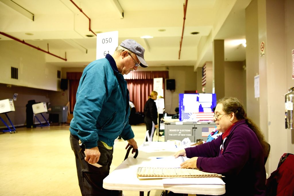 New York to hold primary elections on Tuesday