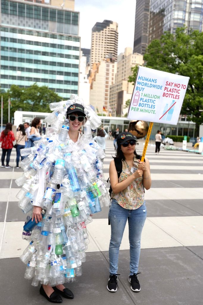 New York: United Nations (UN) Ambassador Syed Akbaruddin during World Environment Day celebrations held at UN headquarter in New York on June 5, 2018.