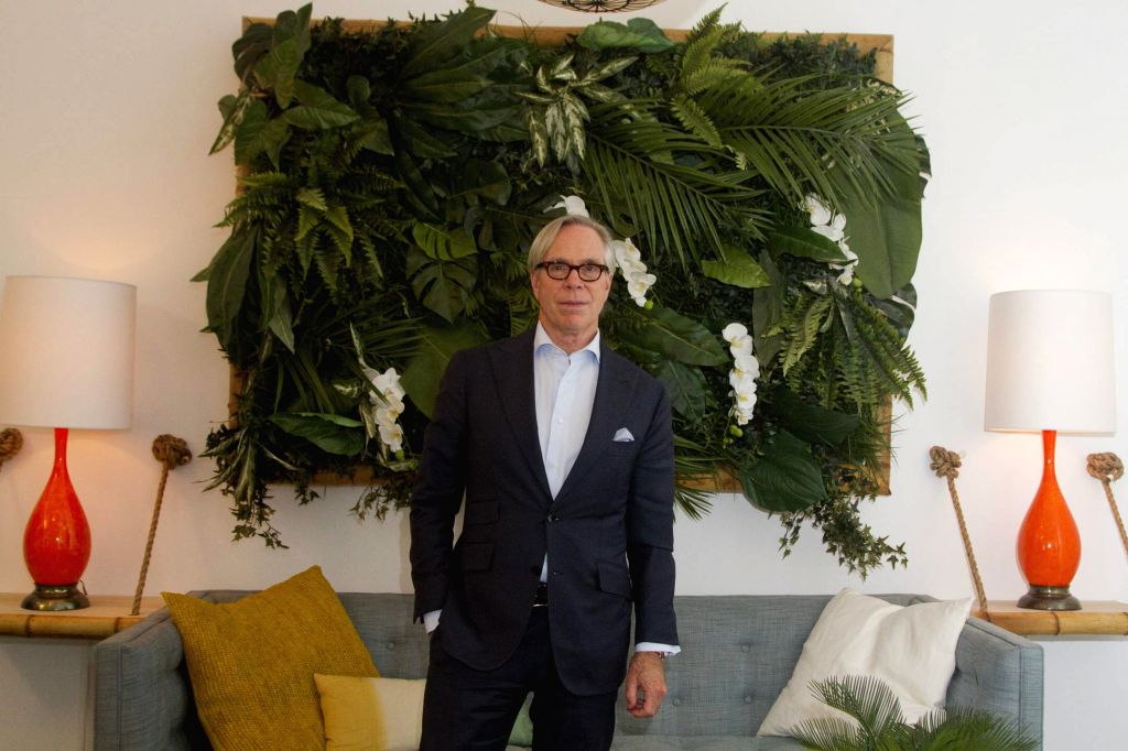 New York: US fashion designer Tommy Hilfiger poses before his fashion show in the frame of the New York Fashionweek in New York, US, 14 September 2015. (IANS/EFE/MIGUEL RAJMIL)