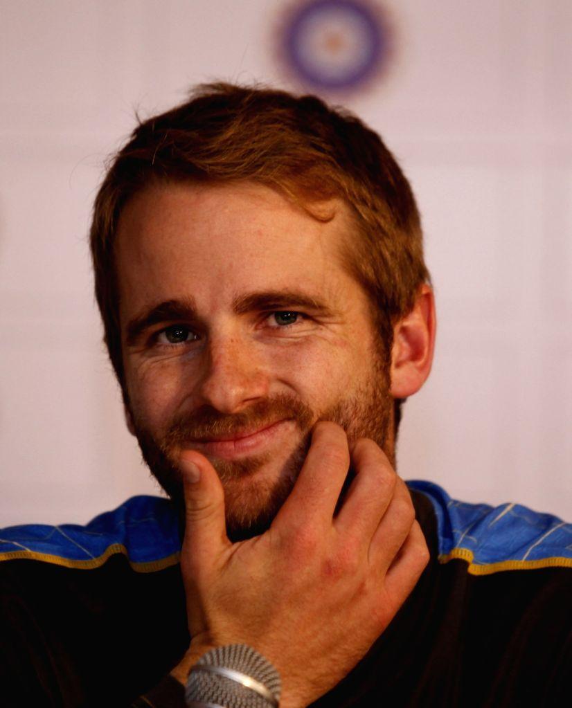 New Zealand captain Kane Williamson. (File Photo: Surjeet Yadav/IANS) - Kane Williamson and Surjeet Yadav