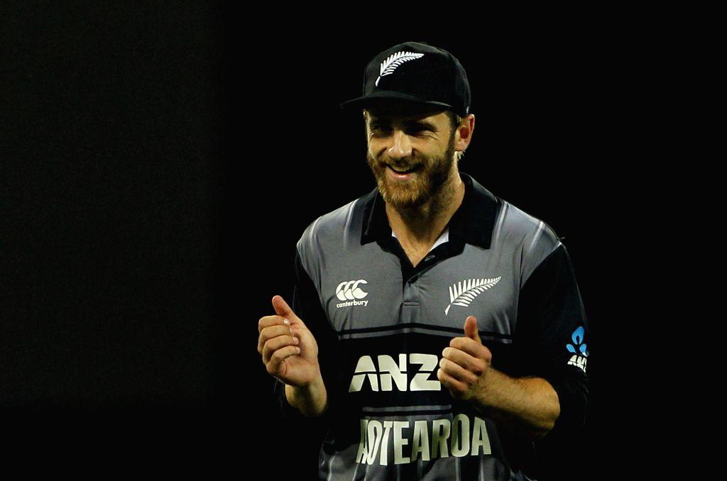 New Zealand captain Kane Williamson. (Photo: Surjeet Yadav/IANS) - Kane Williamson and Surjeet Yadav
