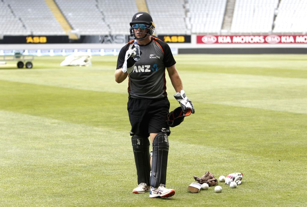 New Zealand player Rose Taylor during a practice session ahead of the 2nd ODI against New Zealand at Auckland in New Zealand on Feb 7, 2020.