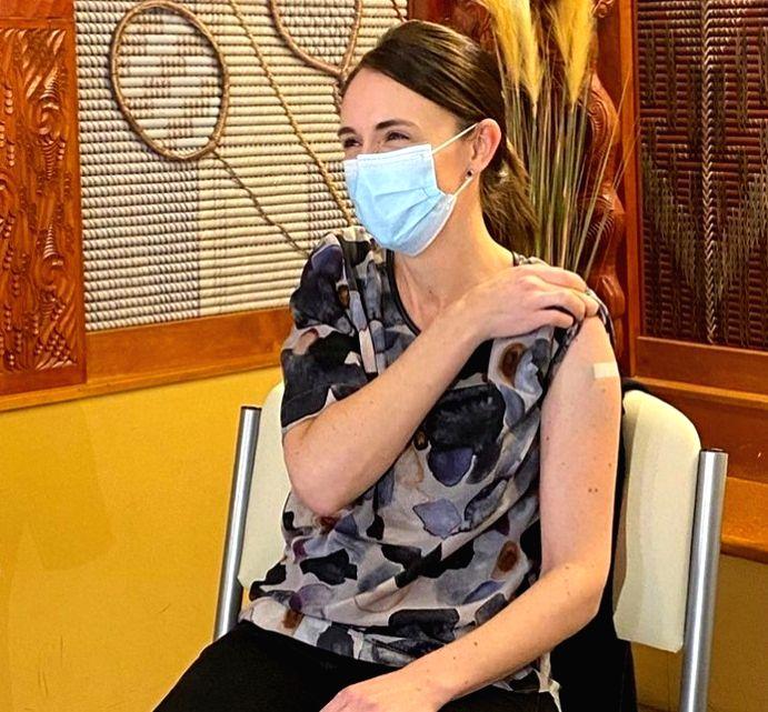 New Zealand Prime Minister Jacinda Ardern gets vaccinated.(photo:instagram) - Jacinda Ardern