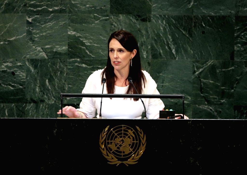 New Zealand Prime Minister Jacinda Ardern. (Xinhua/Qin Lang/IANS) - Jacinda Ardern